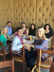 Graduation and Engagement dinner with our family.